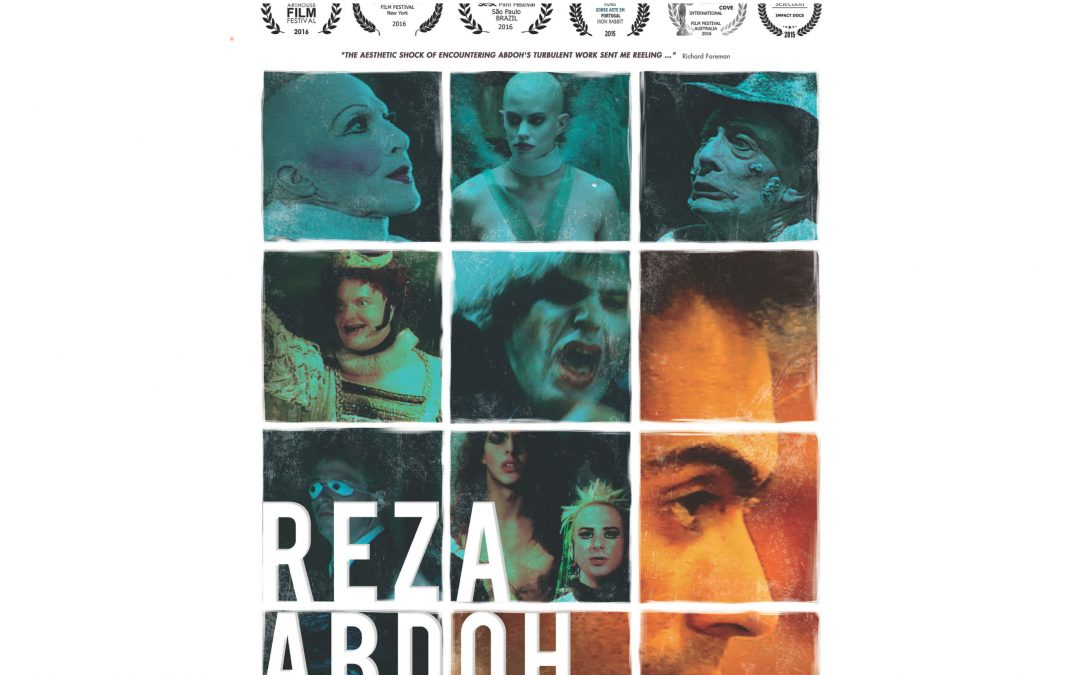 Screening: Reza Abdoh – a documentary film, 11 December 2019, 4-6pm. Samuel Alexander Theatre