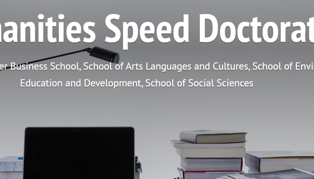 Humanities Speed PhD website