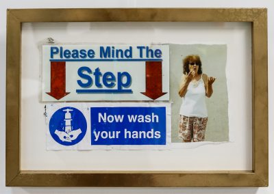 Please Mind The Step – Now Wash Your Hands