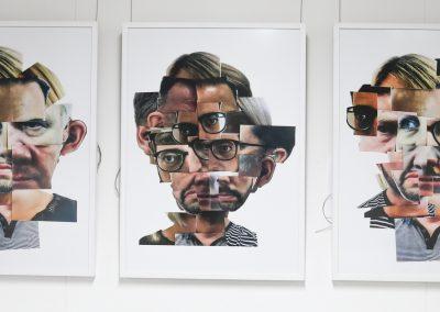 Deaf Self Triptych