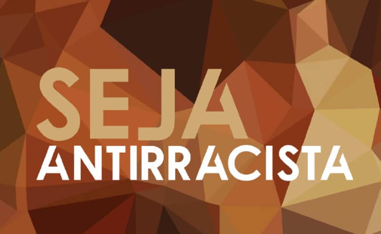 Poster saying Be Antiracist
