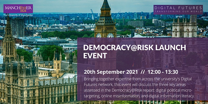 Event: Launch of the Democracy@Risk Report
