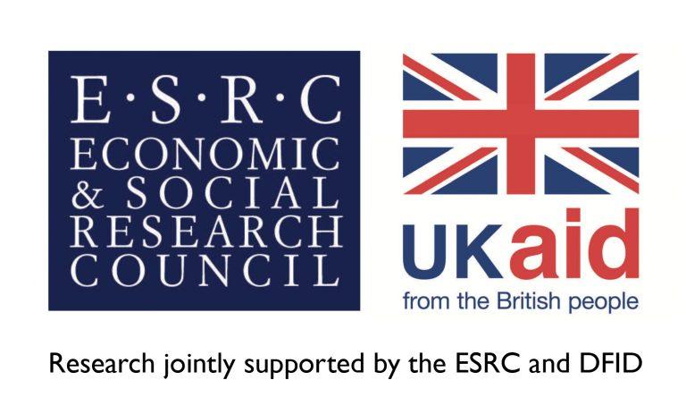 ESRC DFID logo