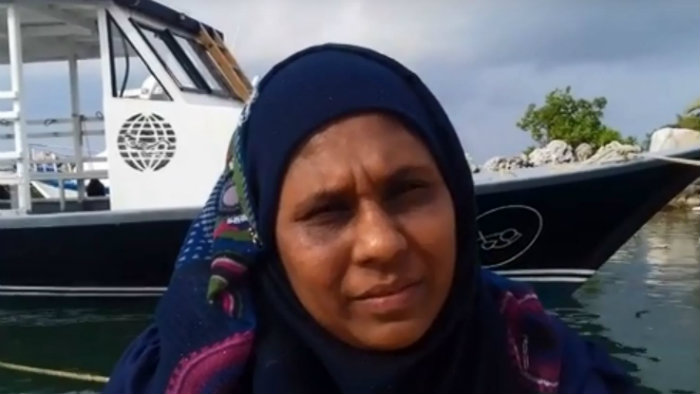 Mizna Mohamed talks about the Everyday Lives project