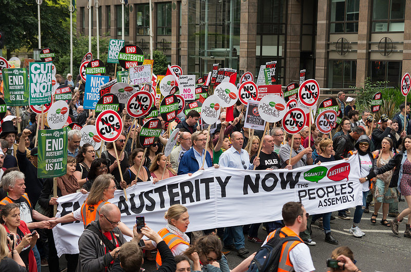 To what extent are anti-austerity protests worthwhile in the U.K?