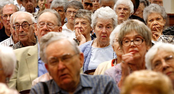 Is an ageing population a bad thing?