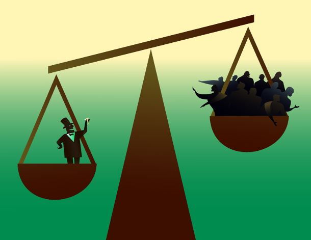 The Oblivion: Inequality of opportunity
