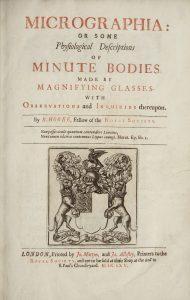 Hooke title page