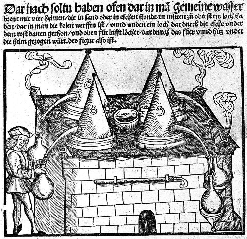 Brunschwig distillation