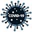 Graphical representation of coronavirus.