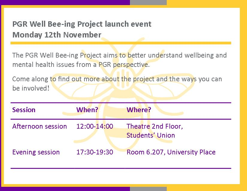 Project launch | 12th November