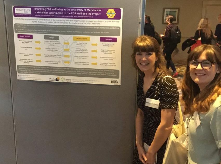 Reflections on the UKCGE 1st international conference on the mental health and wellbeing of PGRs