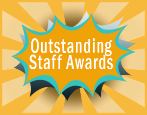 Outstanding staff awards