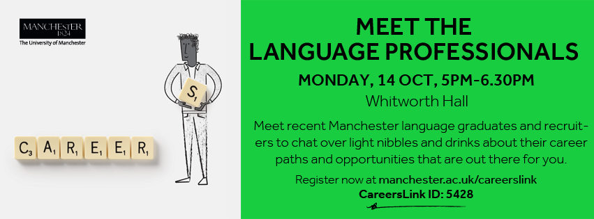Meet the language professionals careers event