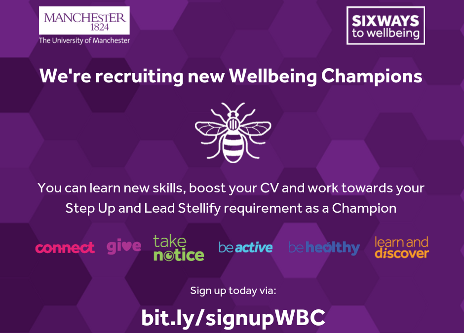 Become a Wellbeing Champion