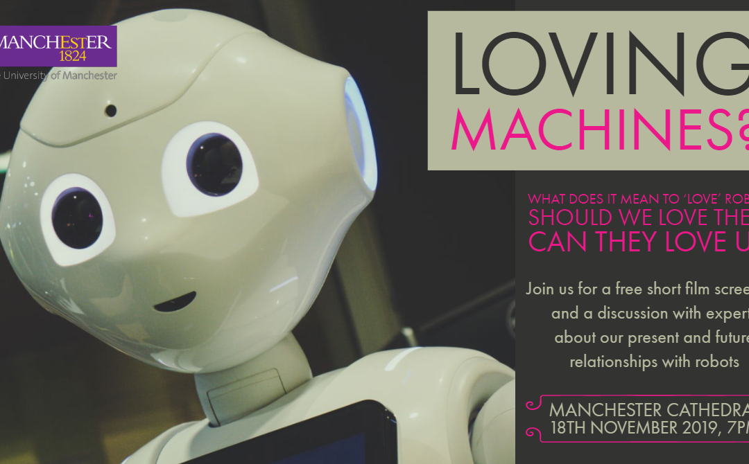 Loving Machines? Free public event at Manchester Cathedral