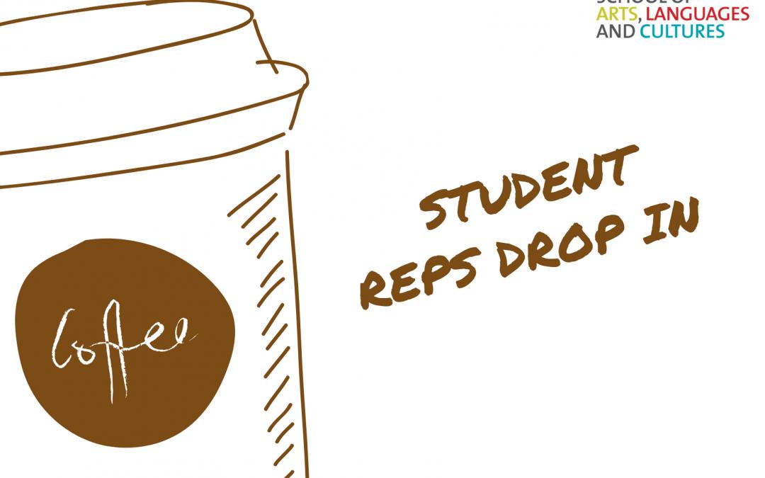 Student Rep Drop in update