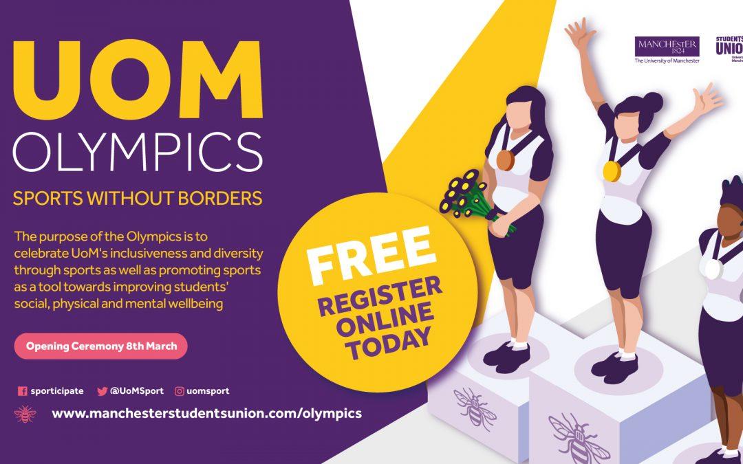 Enter the UoM Olympics