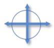 4 crossed arrows
